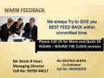 warm feedback1