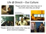 life @ directi our culture