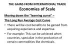 the gains from international trade economies of scale3