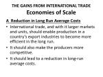 the gains from international trade economies of scale4