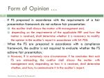 form of opinion1