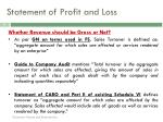 statement of profit and loss