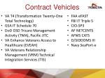 contract vehicles