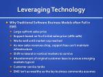 leveraging technology2