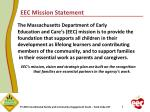 eec mission statement