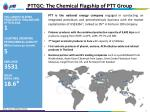 pttgc the chemical flagship of ptt group