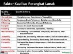 faktor kualitas perangkat lunak taxonomy mccall