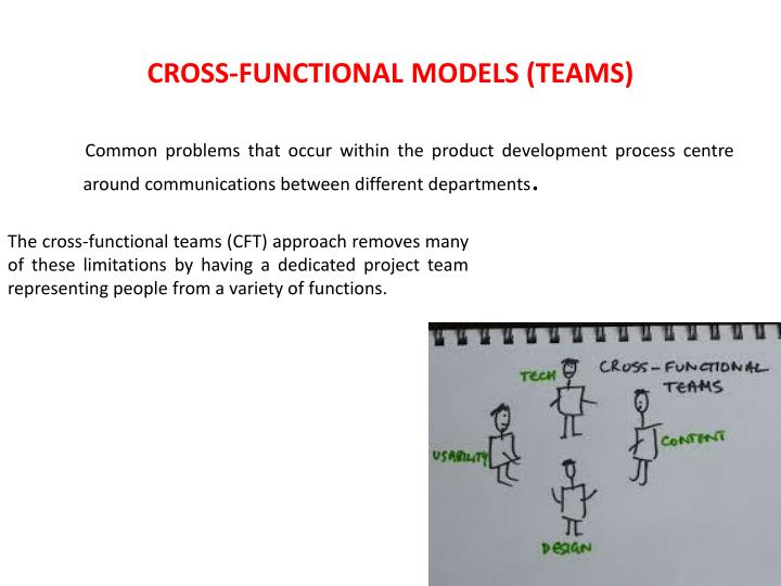 CROSS-FUNCTIONAL MODELS (TEAMS)