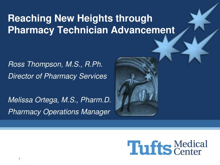 reaching new heights through pharmacy technician advancement n.