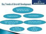 key trends of aircraft development