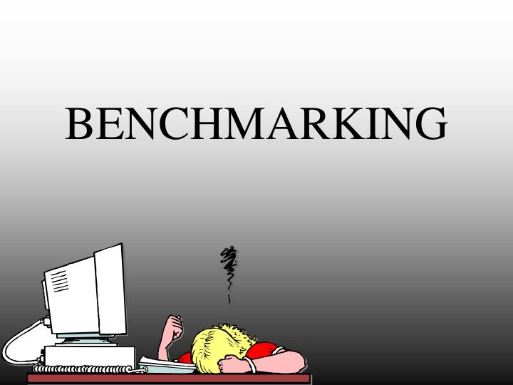 benchmarking n.