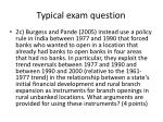typical exam question1