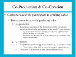 co production co creation