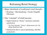 reframing retail strategy