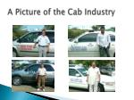 a picture of the cab industry