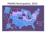 prams participation 2010
