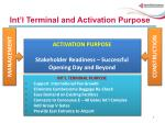 int l terminal and activation purpose