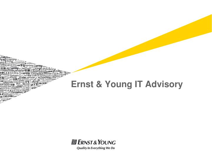 ernst young it advisory n.