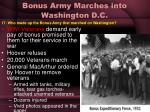 bonus army marches into washington d c