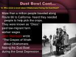 dust bowl cont