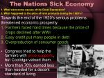 the nations sick economy