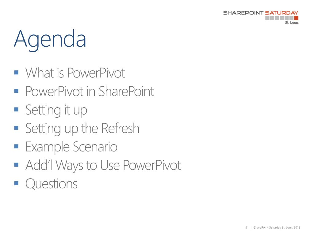 PPT - Demystifying PowerPivot from the SharePoint Admin's