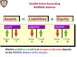 double entry accounting normal balance1