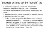 business entities can be people too