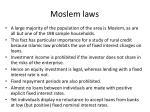 moslem laws
