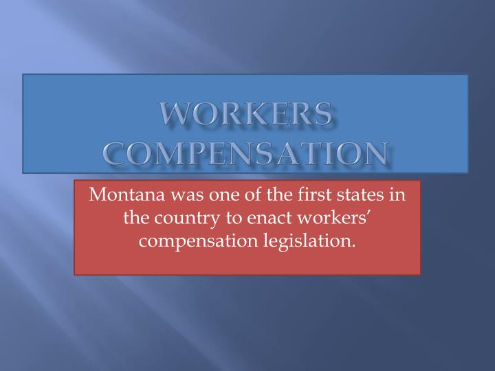 workers compensation n.