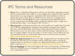 ipc terms and resources2