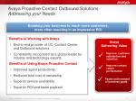 avaya proactive contact outbound solutions addressing your needs