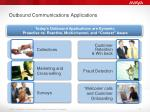 outbound communications applications