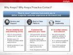 why avaya why avaya proactive contact