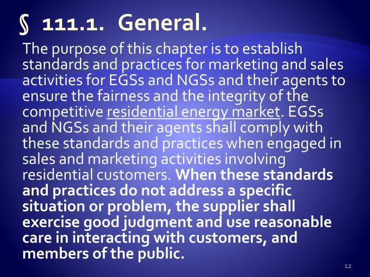 §111.1.General.