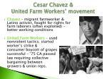 cesar chavez united farm workers movement