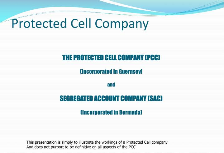 protected cell company n.