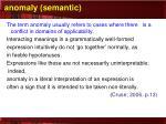 anomaly semantic