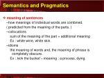 semantics and pragmatics1