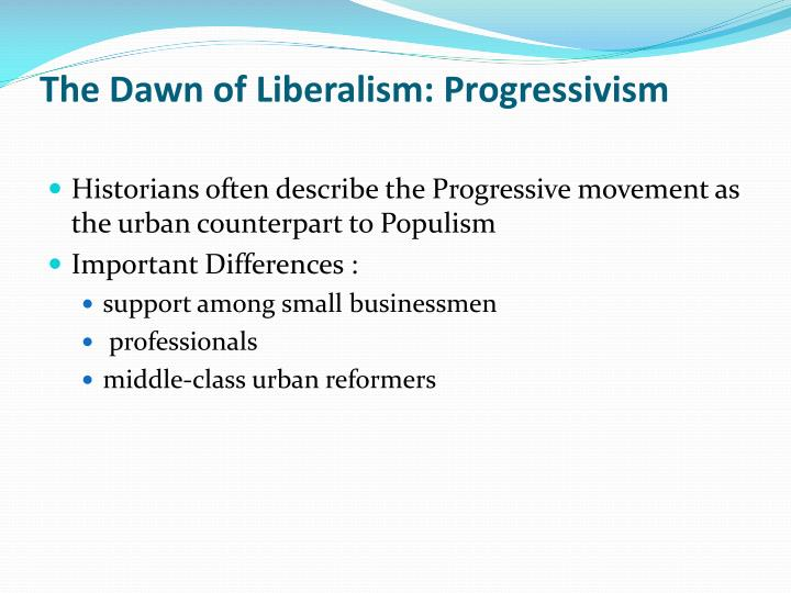 a comparison between the progressivism and populism movement Get an answer for 'are populism, progressivism  or do you find sharp differences between the movements compare the populism was a movement that started.