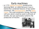 early machines1