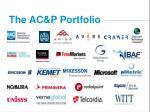 the ac p portfolio