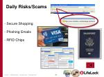 daily risks scams