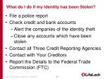 what do i do if my identity has been stolen