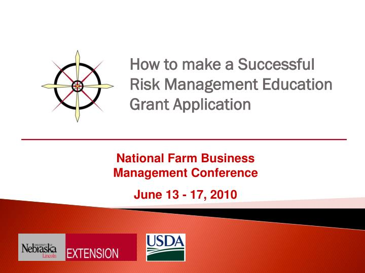 how to make a successful risk management education grant application n.