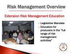 risk management overview4