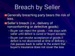 breach by seller