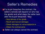 seller s remedies