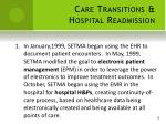 care transitions hospital readmission1