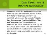 care transitions hospital readmission12